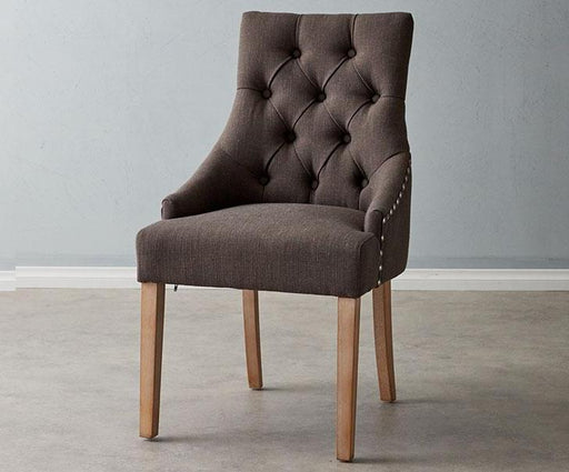 Linda Chair Grey Linen