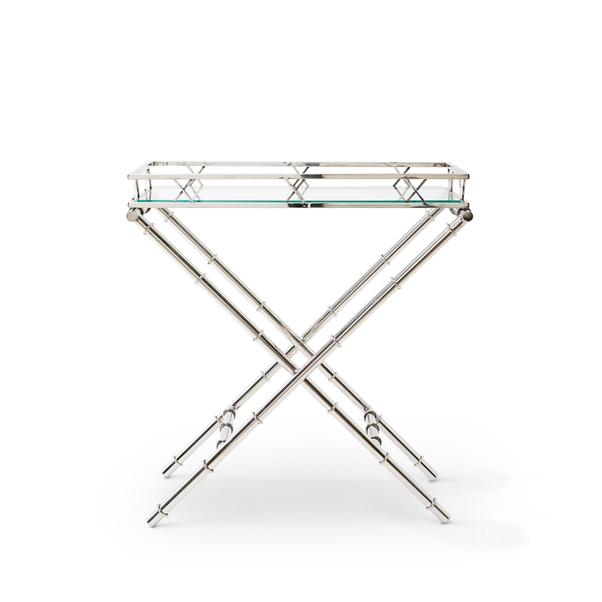 Louis decorative stainless steel table