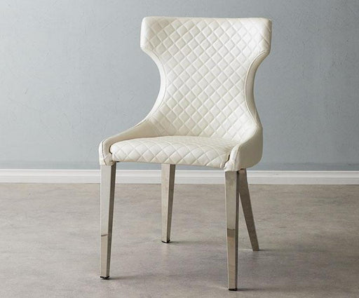 Louise Chair Pearl White