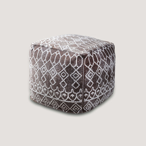 New Size Tibet Grey Cotton Pouf