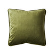 Remi Velvet Cushion - Grass Green