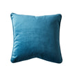 Remi Velvet Cushion - Peacock Blue