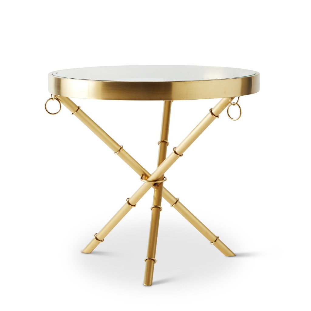 Sandringham gold side table DC