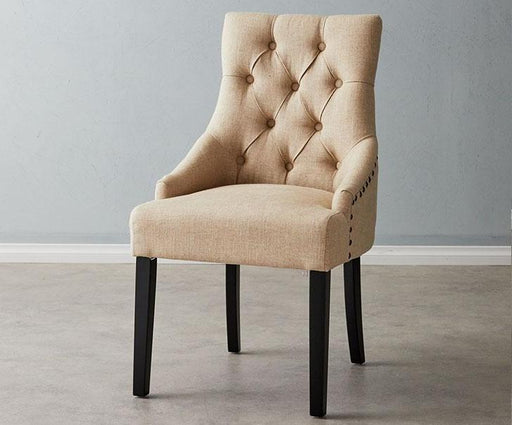 Saxon Chair Cream Linen