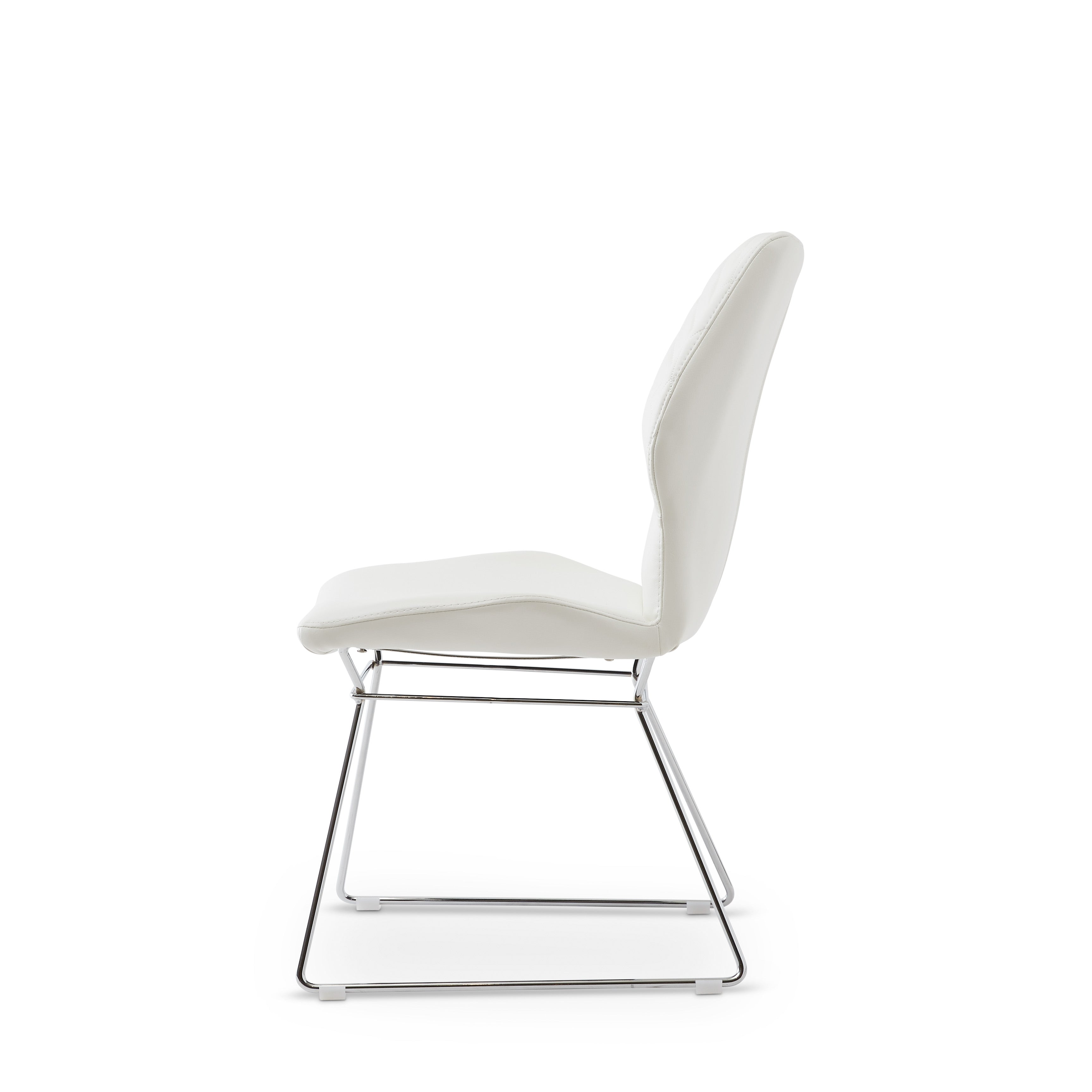 Theo chair white