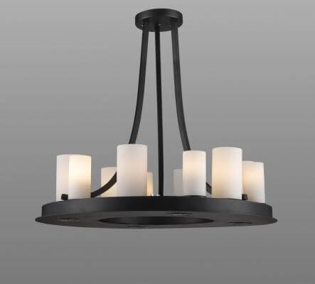 Serena Iron Pendant Light DC