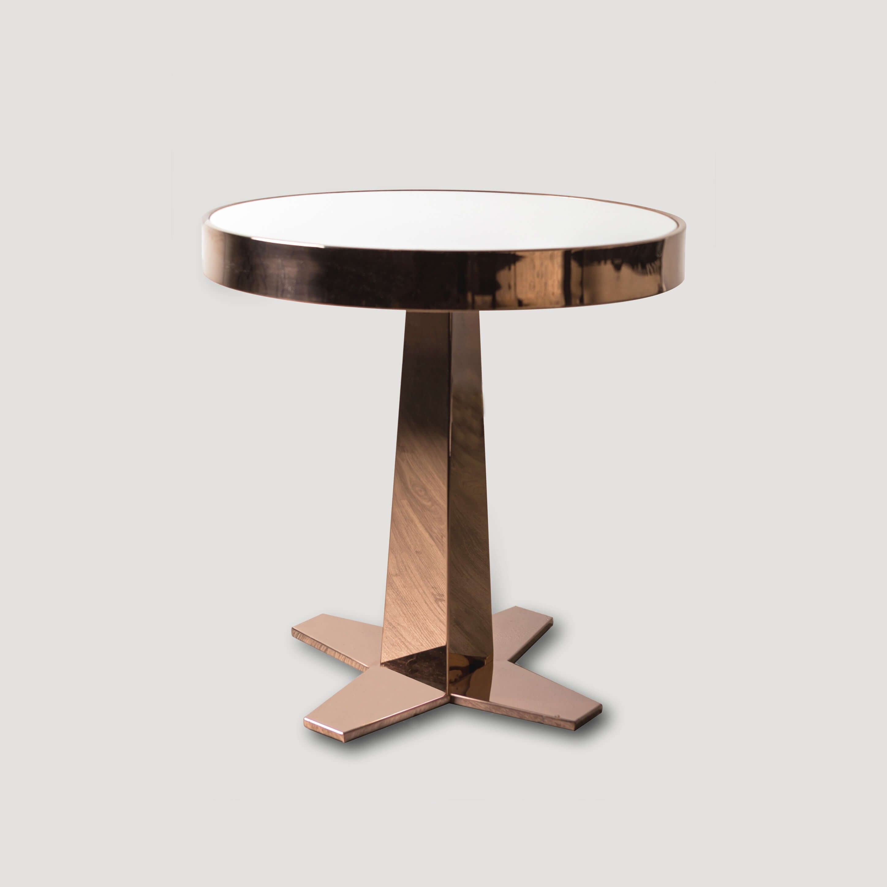 Rose Gold Side Table DC