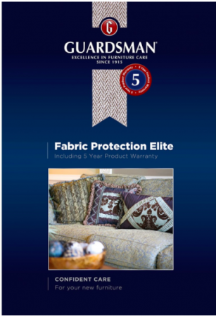 Guardsman Fabric Product Warranty 5-8 Seater