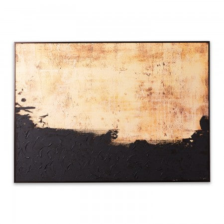 Textured abstract wall art