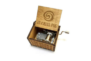 "Moana ""It Calls Me"" Music Box by Zipi - Zipi Box"