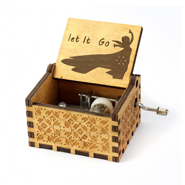 Let It Go Music Box by Zipi - Zipi Box