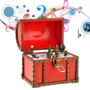 Christmas Chest Music Box - Zipi Box