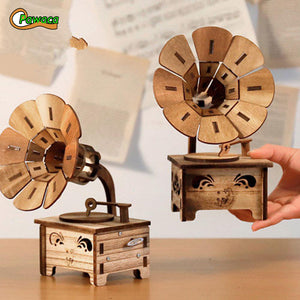 Gramophone Musical Boxes - Zipi Box