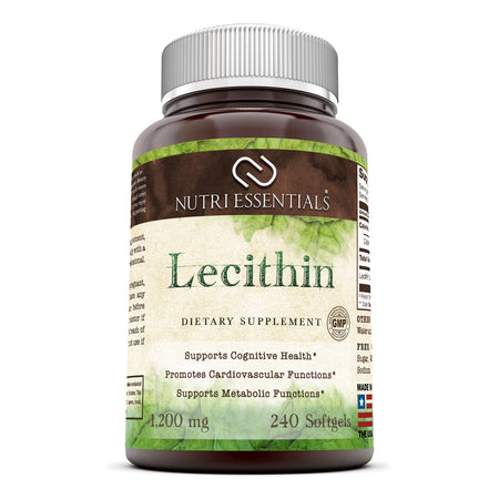 Nutri Essentials Lecithin 1200 Mg 240 Softgels