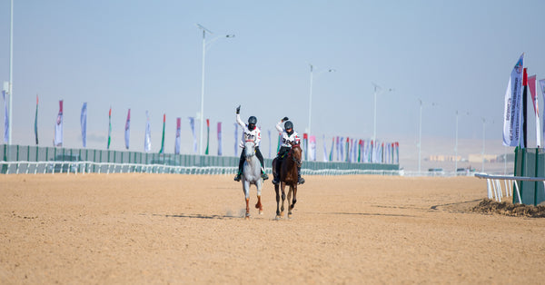 Layla Al Redha Participating in the UAE President endurance cup