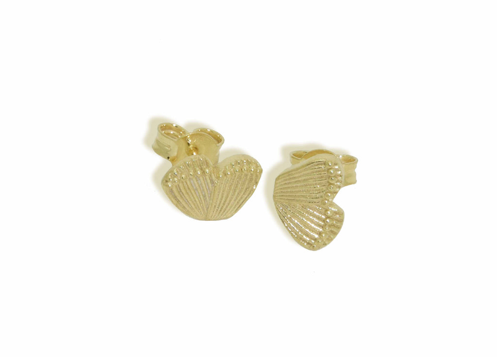 Miccy's Butterfly wings (1 pair) | Gold Line Earrings