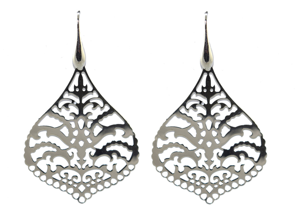 925 Silver Ornaments Earrings