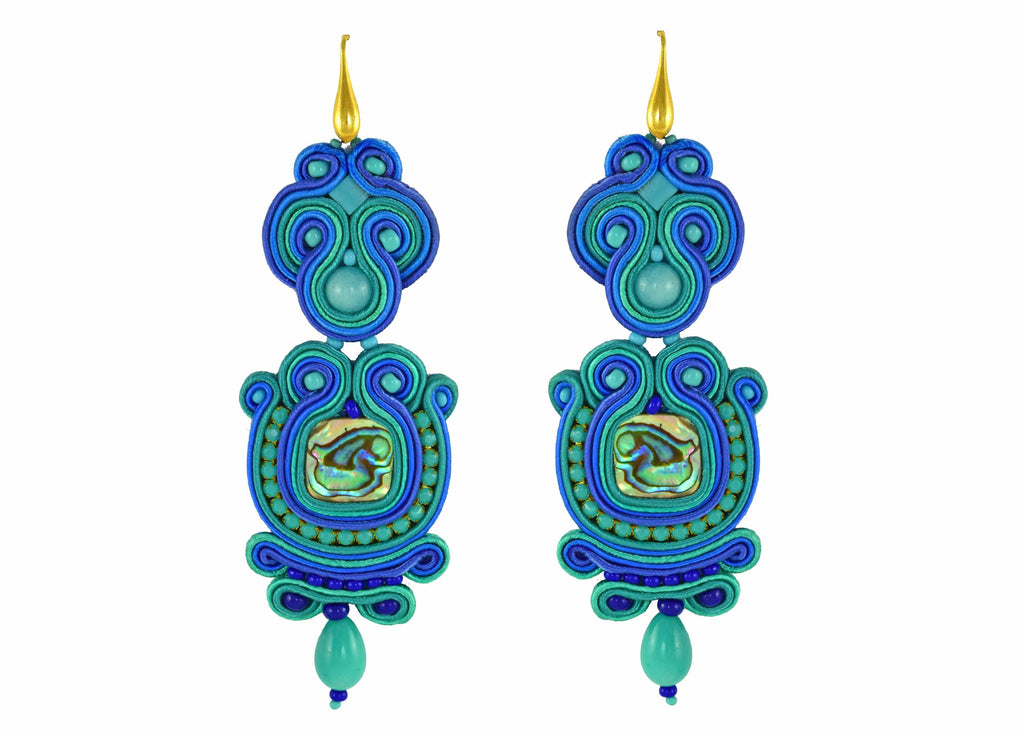 Dive in the Pool! | Velvet Dreams Earrings