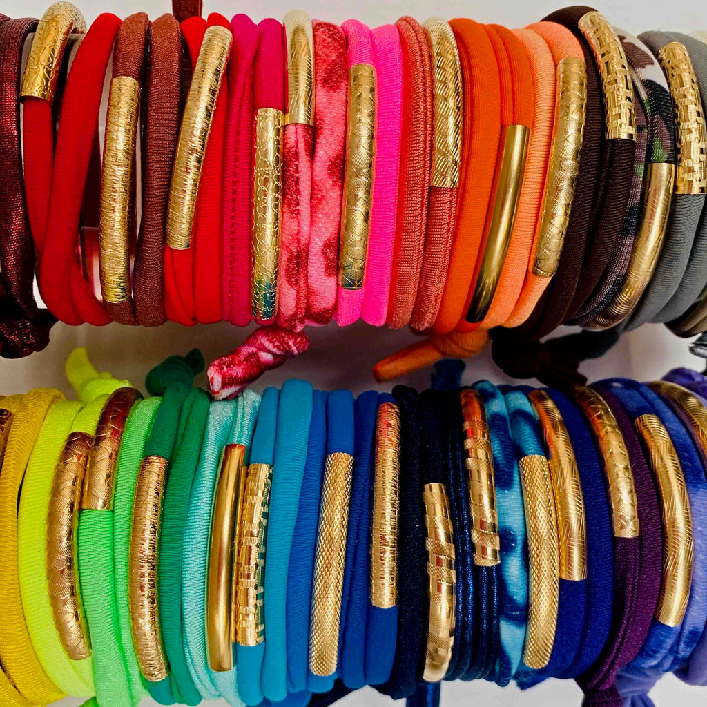 Extra Color Lycra for the 14K Golden Tube Bracelet