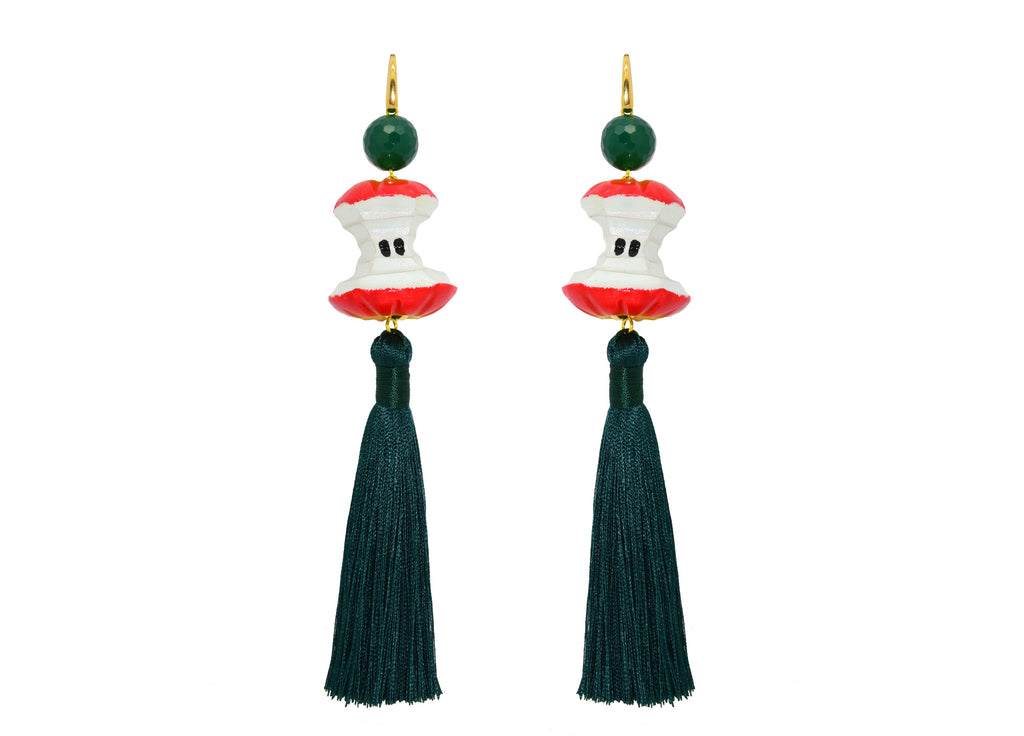 An apple a day keeps the doctor away... | Statement Earrings