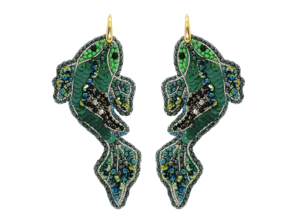 Aquabetta | PatchArt Earrings