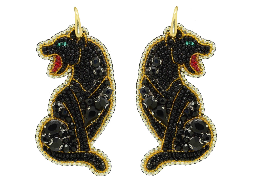 Bagheera | PatchArt Earrings
