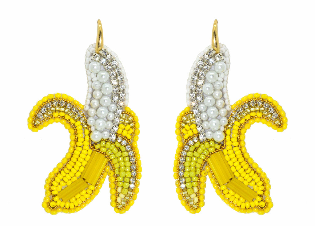 Bananas | PatchArt Earrings