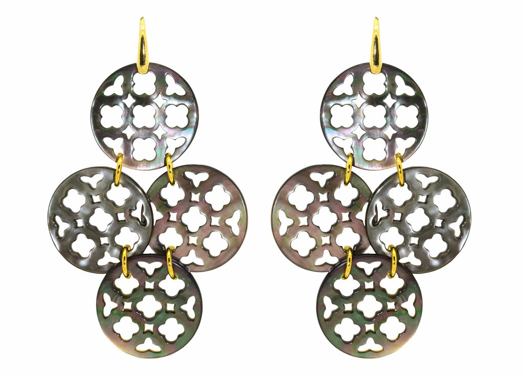 Doha Quatro | Shell Earrings