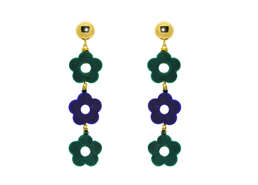 Flower Power Scotland | Resin Earrings