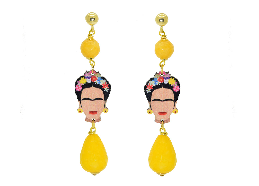 Frida Kahlo | Resin Earrings