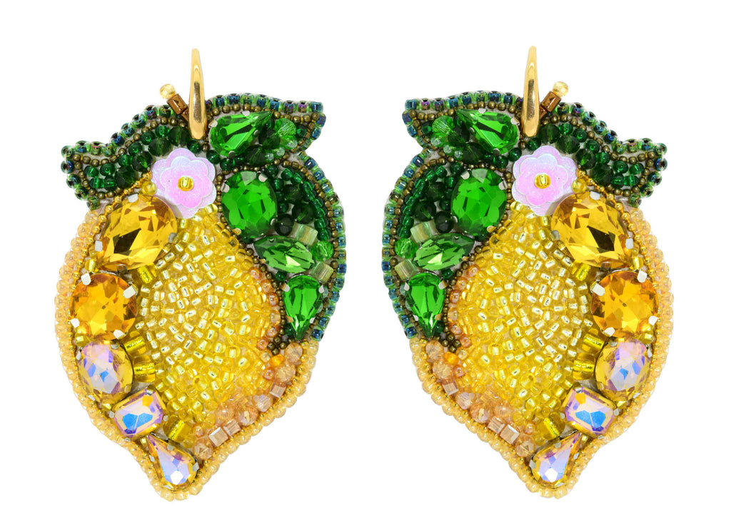 Amalfi Limone | PatchArt Earrings