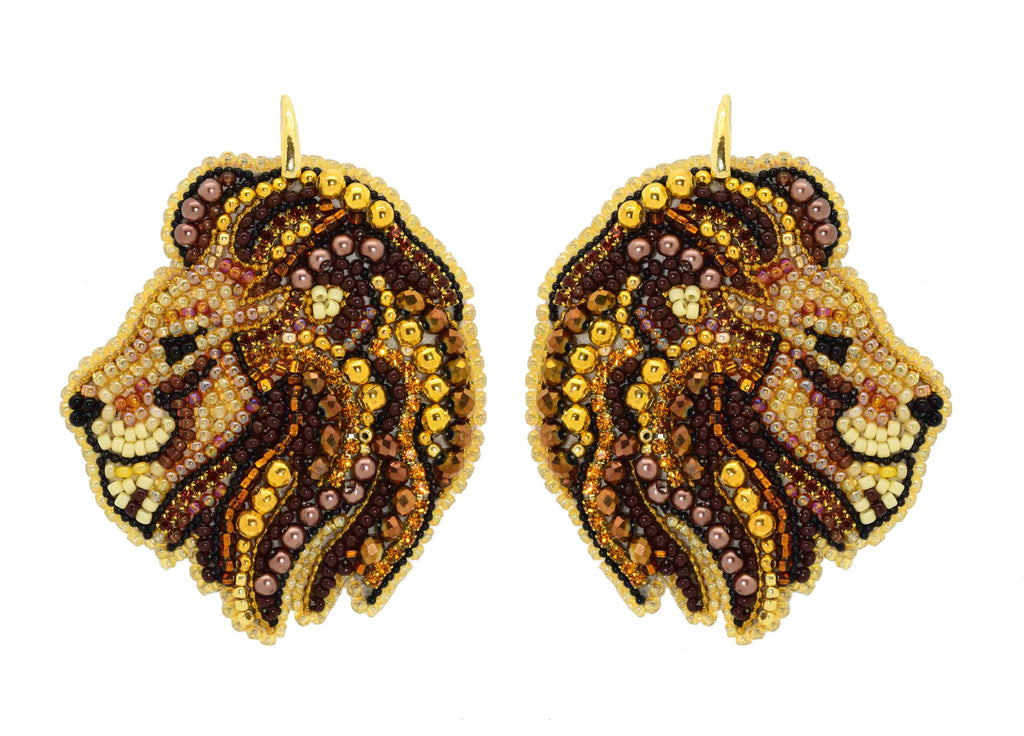 Lions | PatchArt Earrings