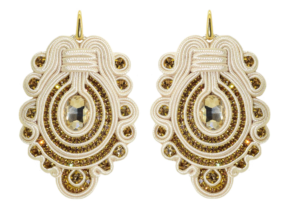 Mezquita Ivory Dream | Velvet Dreams Earrings