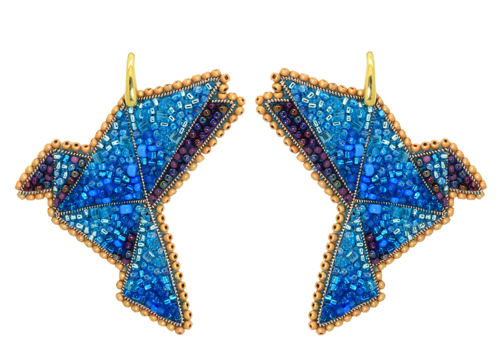 Orizuru | PatchArt Earrings