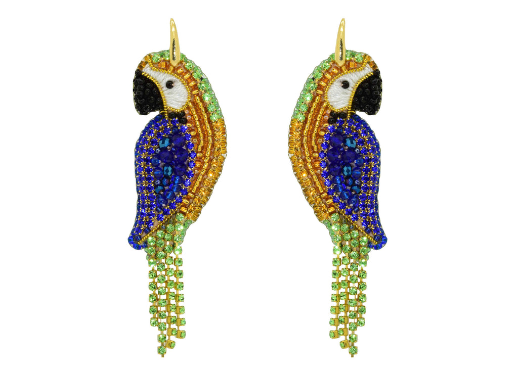 Papagayo | PatchArt Earrings