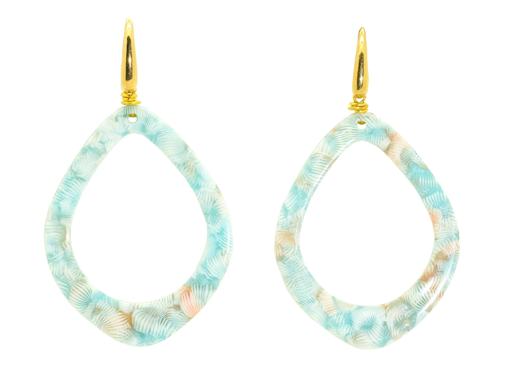 Pastel Drops | Resin Earrings