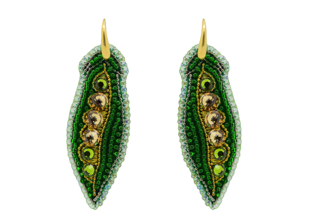Peas in a Pod | PatchArt Earrings