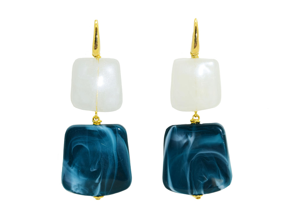 Rothko Pacific | Resin Earrings