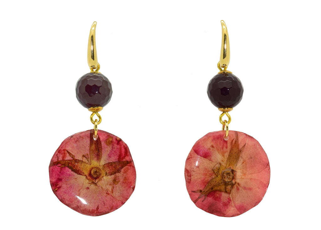 Ruby Rosehips | Gemstone | Gemstone Earrings