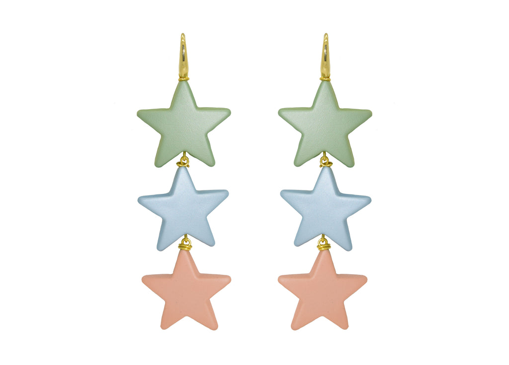 Sorbet Stars | Resin Earrings