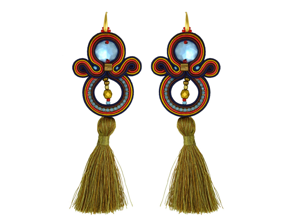 Spring Roll | Velvet Dreams Earrings