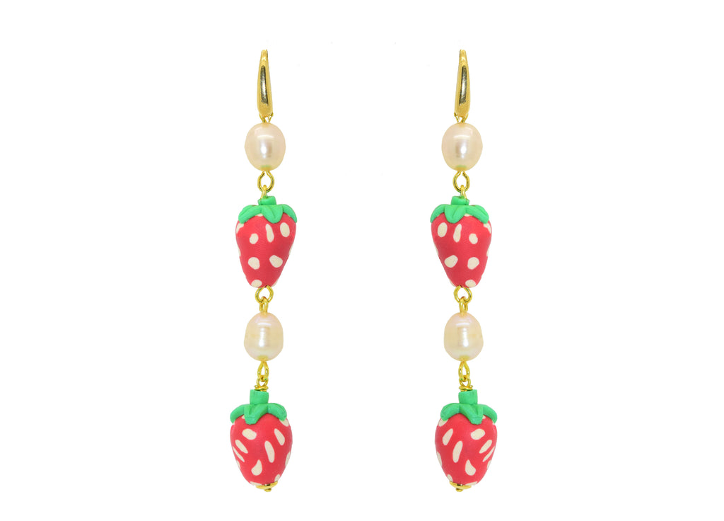 Strawberry Jam | Resin Earrings