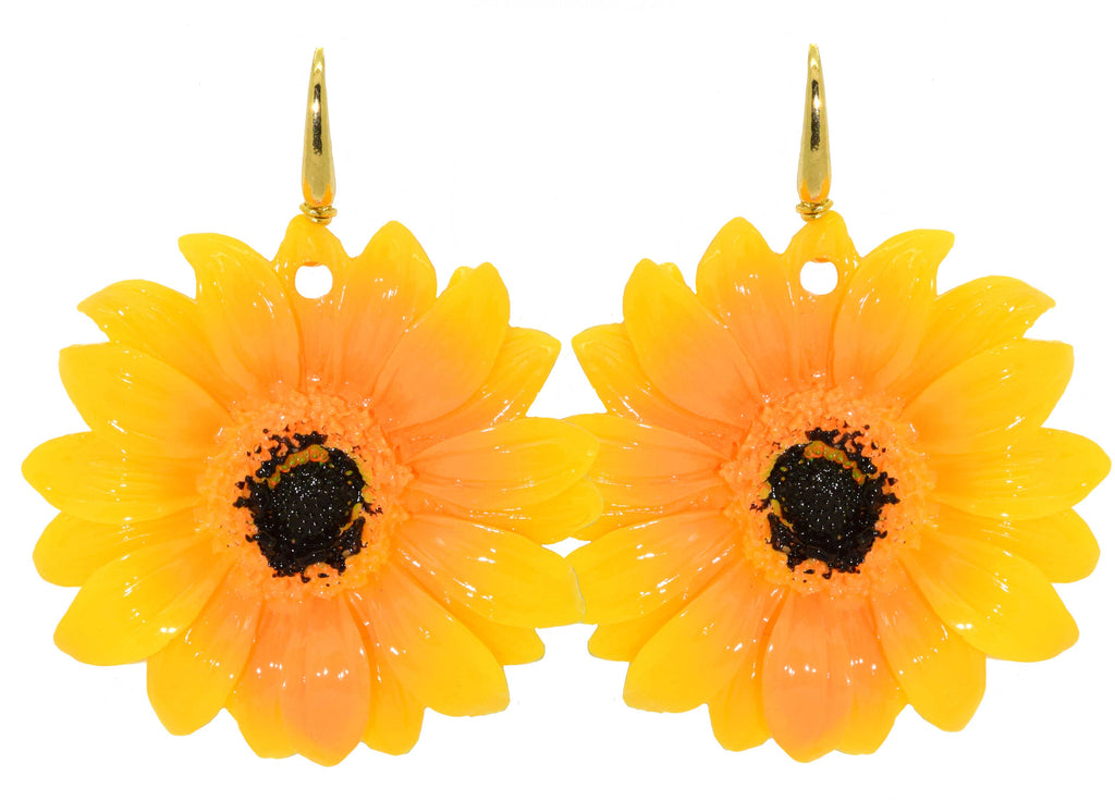 Sunflower | Resin Earrings