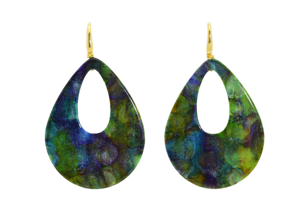 Swamped! | Resin Earrings