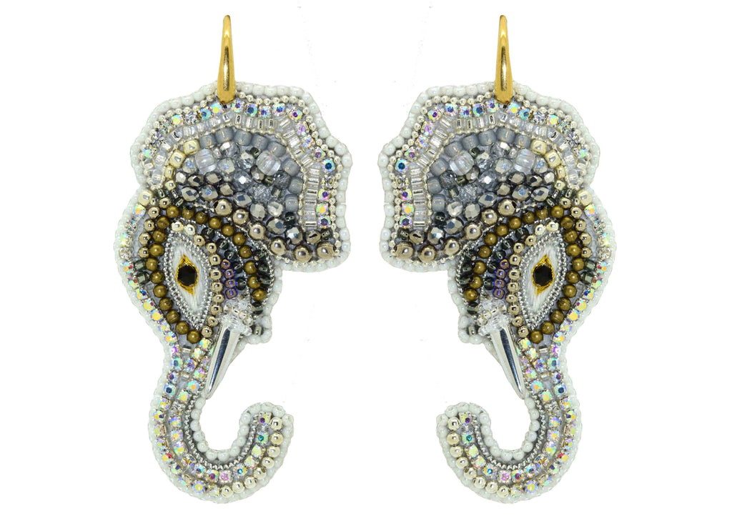 Hathi | PatchArt Earrings