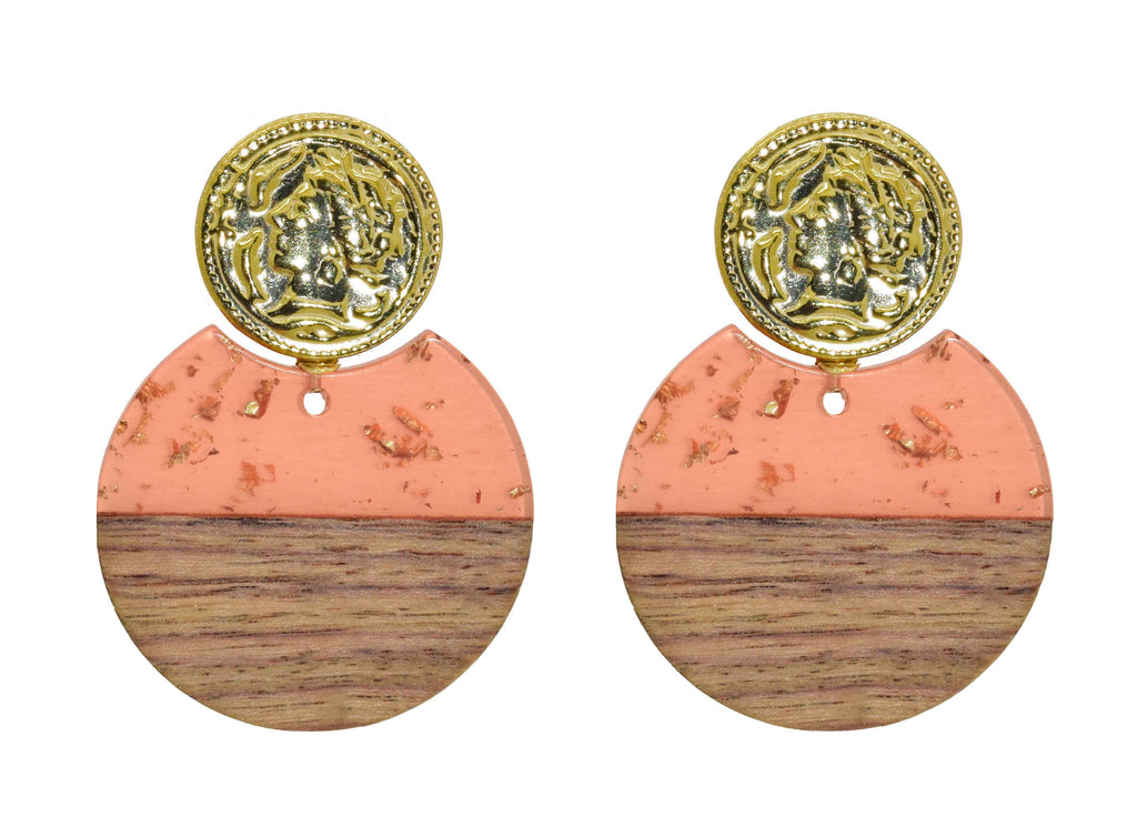 Why Nut Peach | Resin Earrings