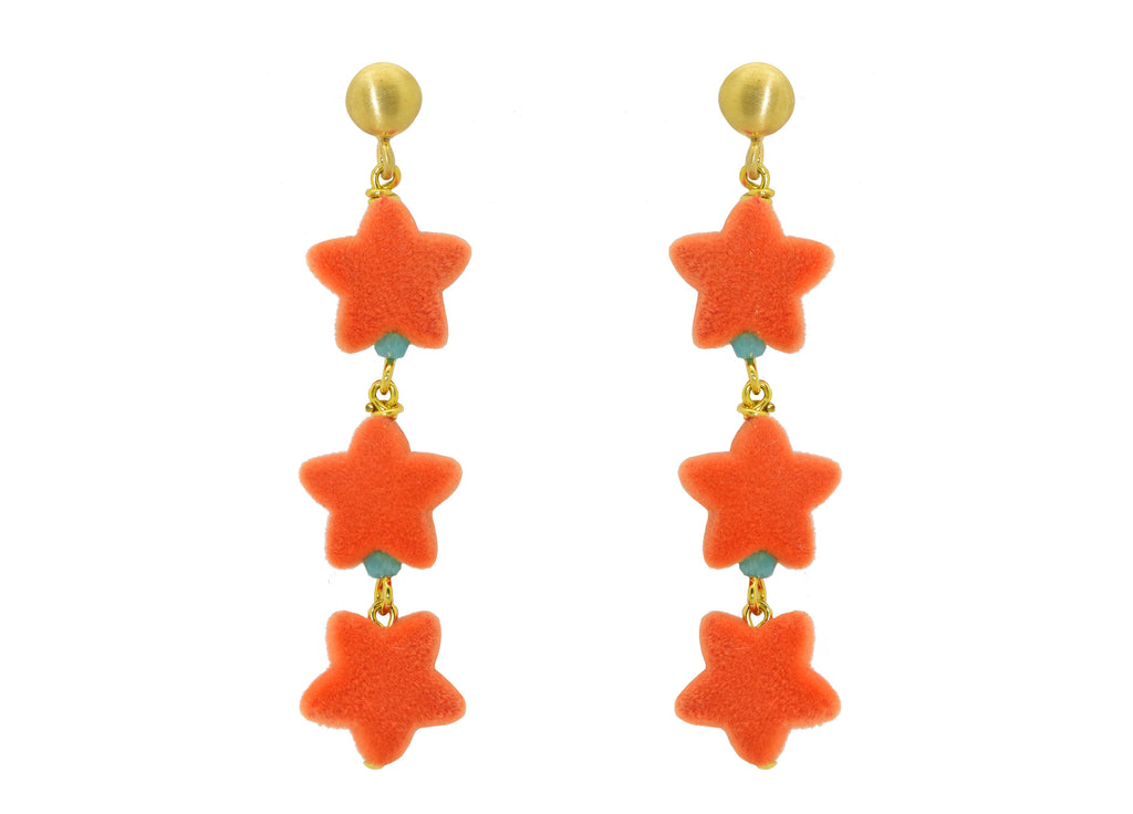 Wishful Thinking Tangarine | Resin Oorbellen