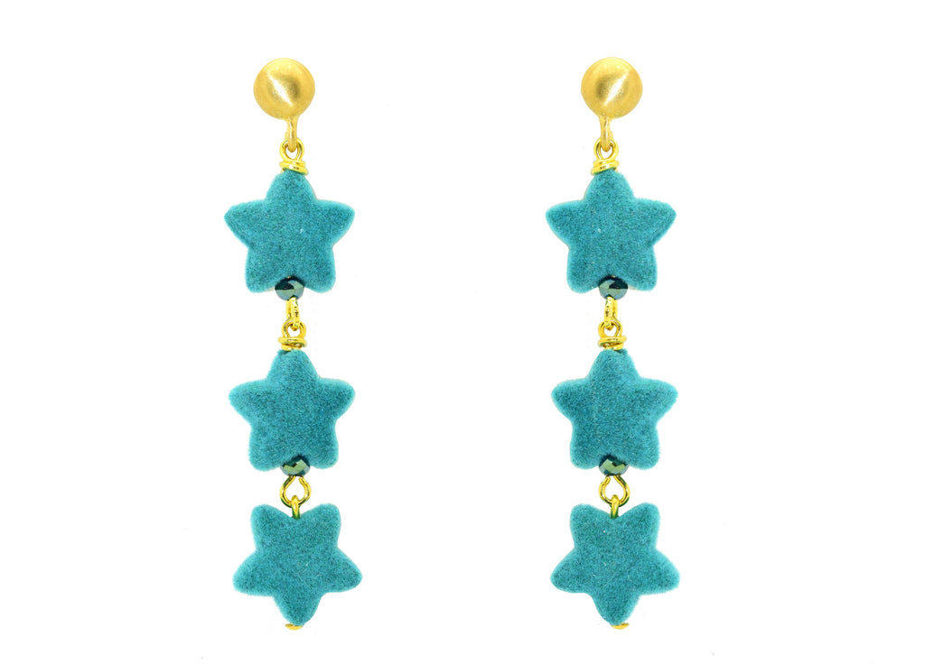 Wishful Thinking Turquoise | Resin Earrings