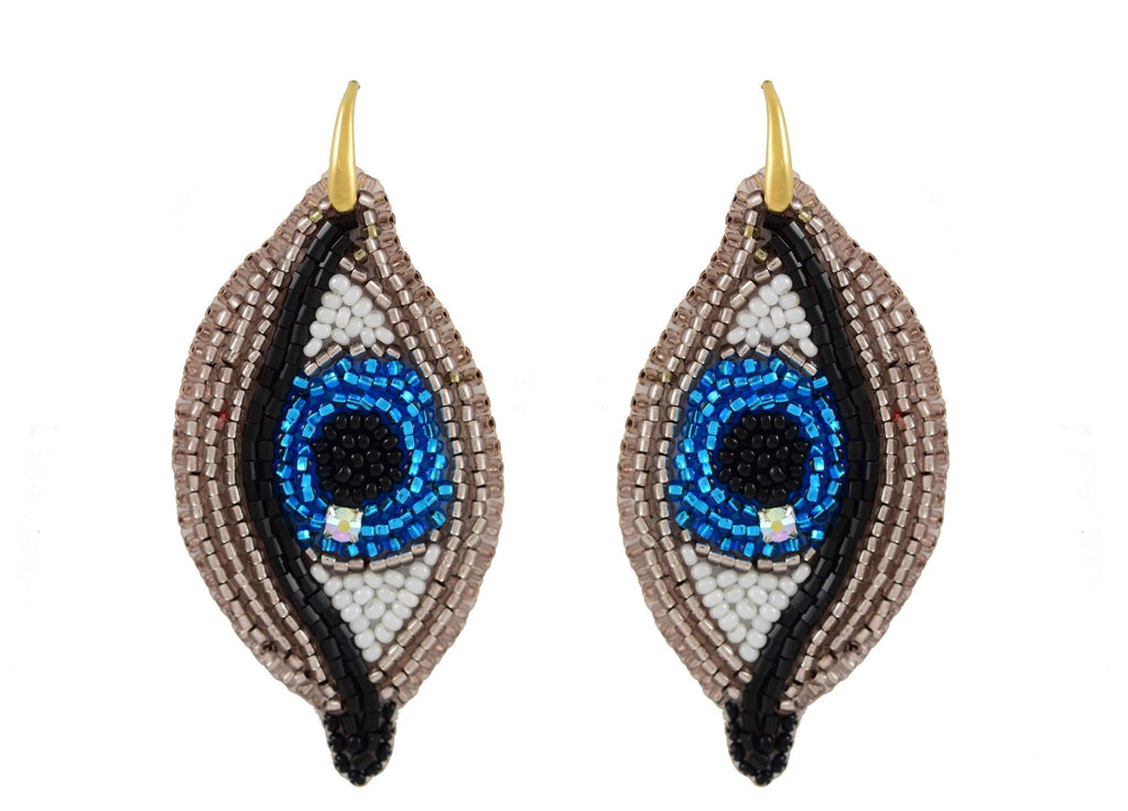 The Blue Eye Dream | PatchArt Earrings