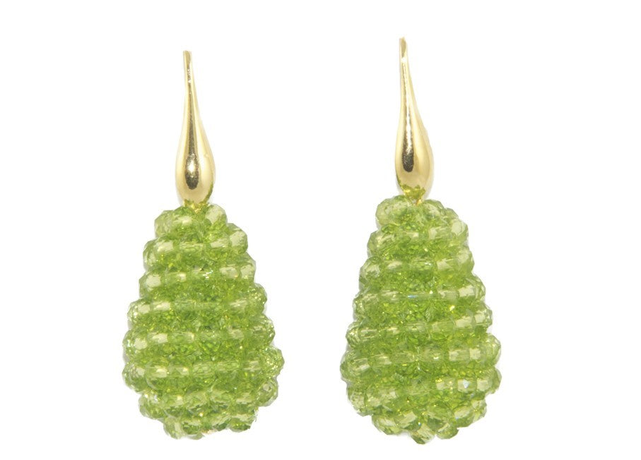 Peridot small Crystal drops